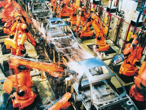 automobile industrial robots